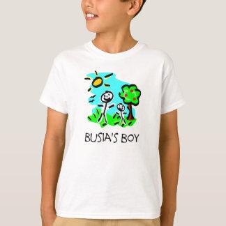 Busia's Boy (Stick figure) T-Shirt