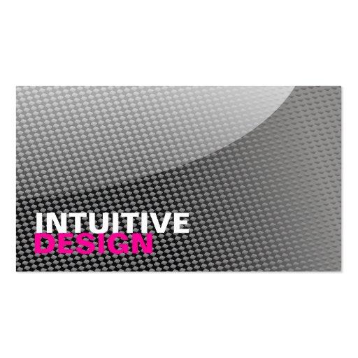 busin, INTUITIVE, DESIGN Business Card Template