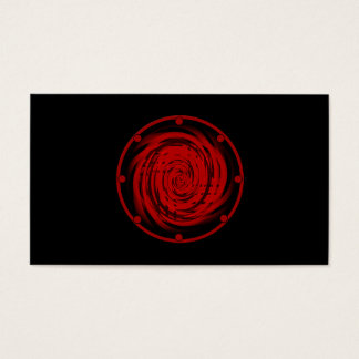 """Business, 3.5"""" x 2.0"""", 100 pack BLACK HOLE SWIRL Business Card"""