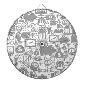 Business a background7 dartboard with darts