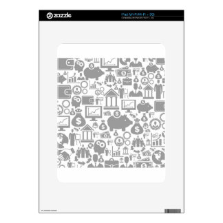 Business a background7 decals for the iPad