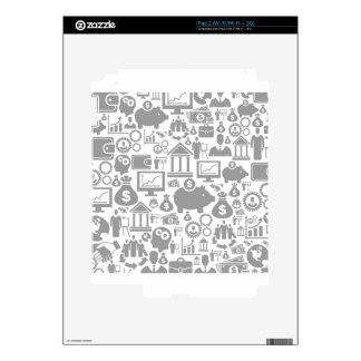 Business a background7 skin for iPad 2