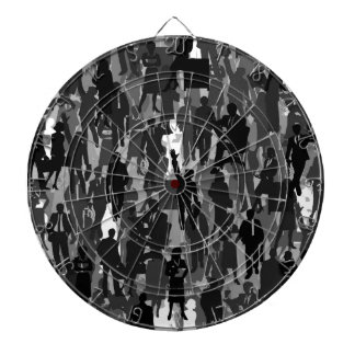 Business a background dartboard with darts