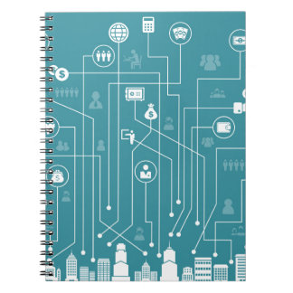 Business a city notebook