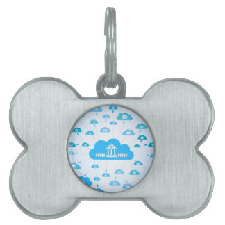 Business a cloud3 pet tag