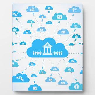 Business a cloud3 plaque