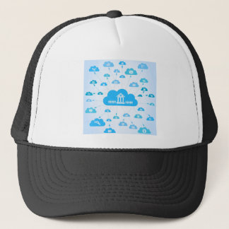 Business a cloud3 trucker hat