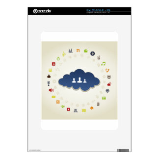 Business a cloud skin for iPad