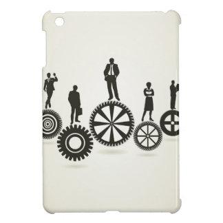 Business a gear wheel iPad mini cover