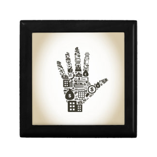 Business a hand2 gift box