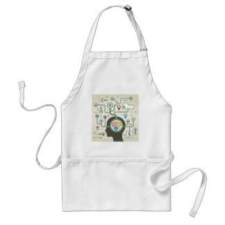 Business a head adult apron