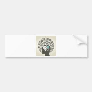 Business a head bumper sticker