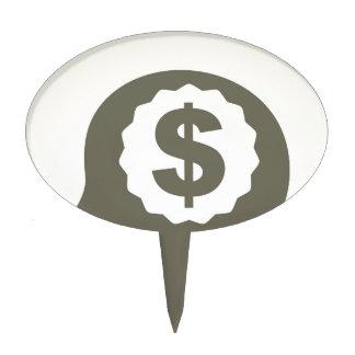 Business a head cake topper