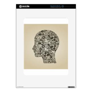 Business a head iPad skins