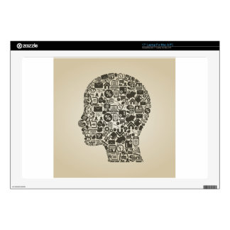 Business a head laptop decal