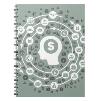 Business a head notebook