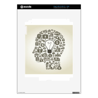 Business a head skins for iPad 2