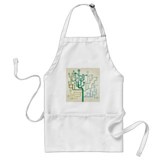 Business a labyrinth adult apron