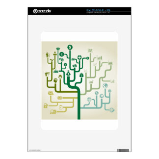 Business a labyrinth decal for iPad