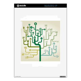 Business a labyrinth decals for the iPad 2