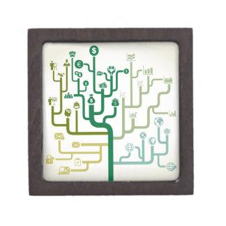 Business a labyrinth gift box