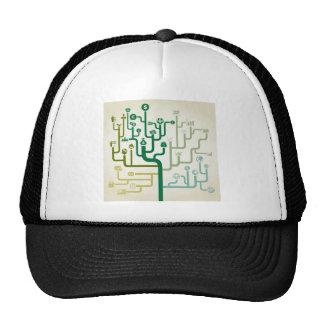 Business a labyrinth trucker hat