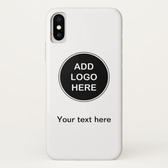 sports shoes bf6a9 b91bc Business Add Your Logo Case-Mate iPhone Case