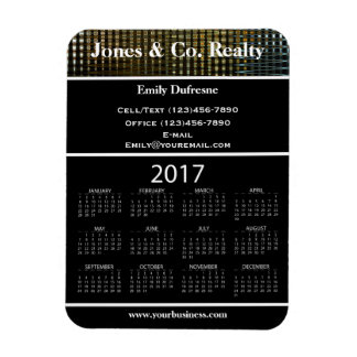 Business Advertising 2017 Calendar II Magnet