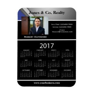 Business Advertising/Promotional 2017 Calendar Magnet