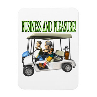 Business And Pleasure Magnet