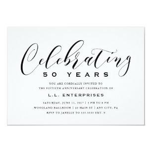 business anniversary invitations zazzle