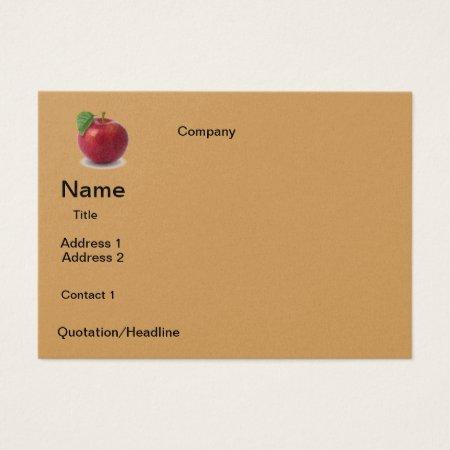 Business Apple  Design Business Card