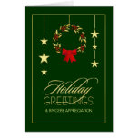 Business Appreciation Holiday Greeting Cards