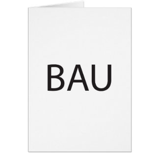 business as usual.ai greeting card