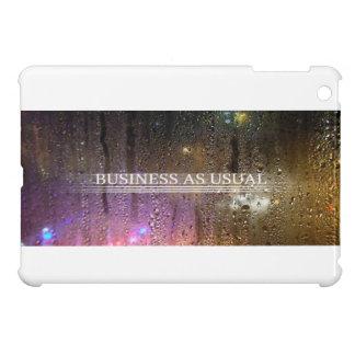 business as usual iPad mini cover