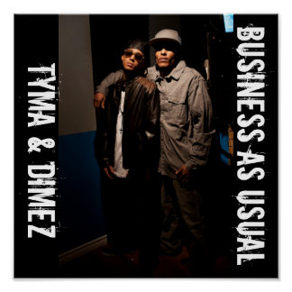 Business As Usual Poster