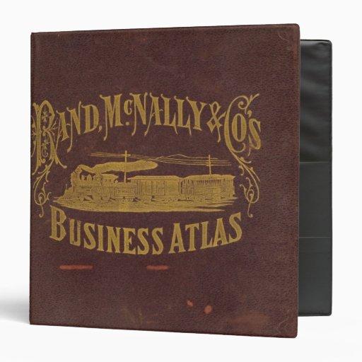 Business atlas binder