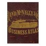 Business atlas postcard