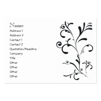 business & beauty large business cards (Pack of 100)