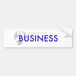 Business Brigades Bumper Sticker