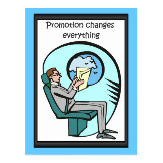 Business buddies,Promotion changes everything Postcard