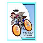 Business buddies, You're a winner Postcard