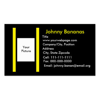 business, business, business, Johnny Bananas, T... Double-Sided Standard Business Cards (Pack Of 100)