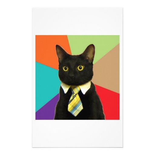 Business Car Advice Animal Meme Custom Stationery