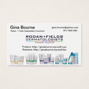 Rodan and fields business cards templates zazzle business card flashek Images