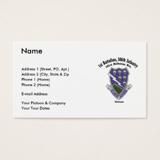 Business Card - 1-506th