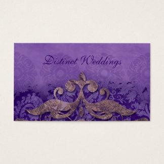 Business Card Antique Verdigris Wedding Planner P