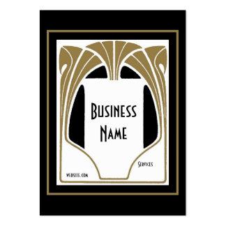 Business Card Art Nouveau Deco Elegant