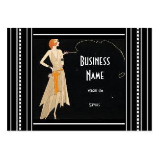 Business Card Art Nouveau Deco Fashion Elegant
