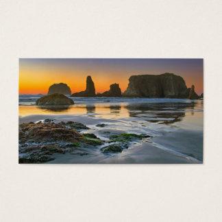 Business Card Bandon, Oregon, Pacific beaches